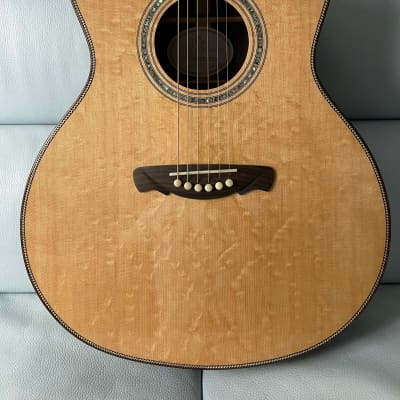 Hsienmo Autumn Bear-claw Sitka Spruce + Wild Indian Rosewood Full Solid Acoustic Guitar for sale