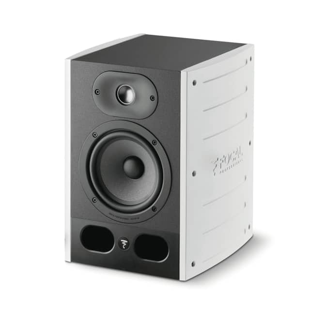Focal: Alpha 50 Professional Monitoring Loudspeaker - Limited Edition White (Single) - Single image