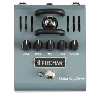 Friedman Amplification Motor City Drive Tube Overdrive pedal