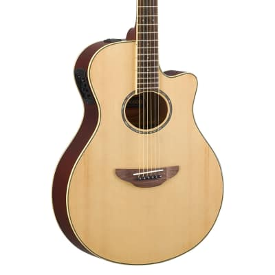 Yamaha APX600NT Thinline Acoustic Electric Guitar in Natural