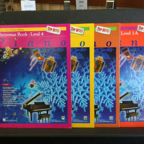 Alfred 00-17202 Alfred's Basic Piano Library: Top Hits! - Christmas Book (Level 1A)