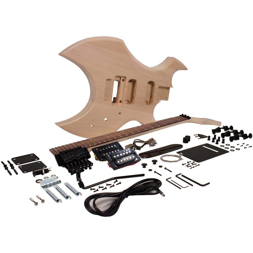 premium warlock style diy electric guitar kit unfinished reverb. Black Bedroom Furniture Sets. Home Design Ideas