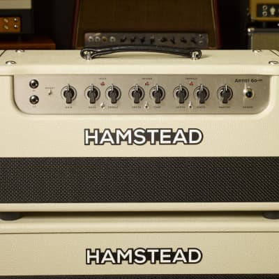 Hamstead Artist 60 +RT (amp and cab) Blonde for sale