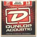 Dunlop - DAB1356 - 80/20 Medium Acoustic - 6 String Guitar Set, 013-.056
