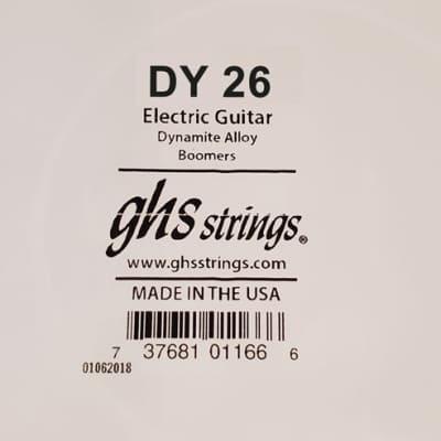 GHS .026 Dynamite Alloy Boomer Single String