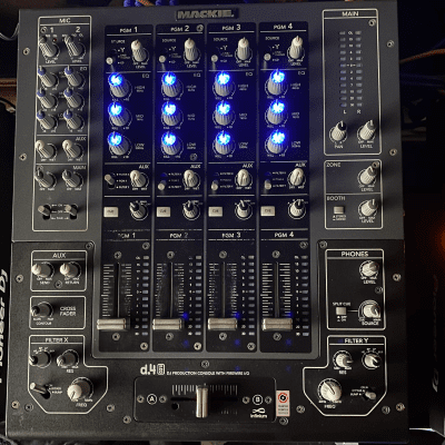 Mackie D.4 PRO 4-Channel Firewire DJ Production Console