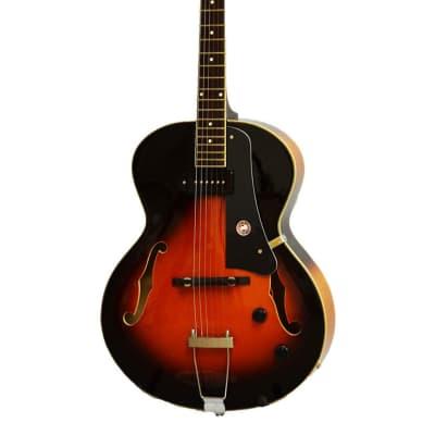 Alden AD-150 Jazz Archtop Guitar P90 Hollow Body Vintage Sunburst Electric Guitar ES-125 Style New for sale