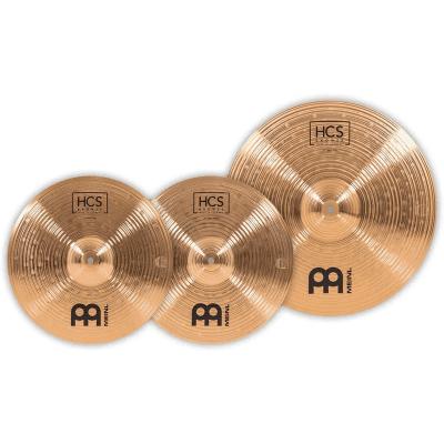 "Meinl HCS1418+14C HCS Basic Box Set 18/14"" 2pc Cymbal Pack"