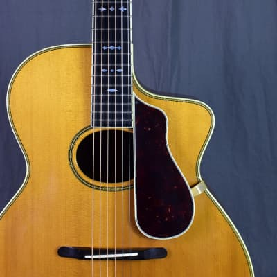 """1993 D.W. Stevens """"Prototype"""" Oval-hole Archtop for sale"""