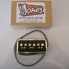 TV Jones T-Armond Neck Pickup English Mount Chrome/Black