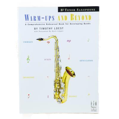 Warm-Ups And Beyond - Tenor Sax