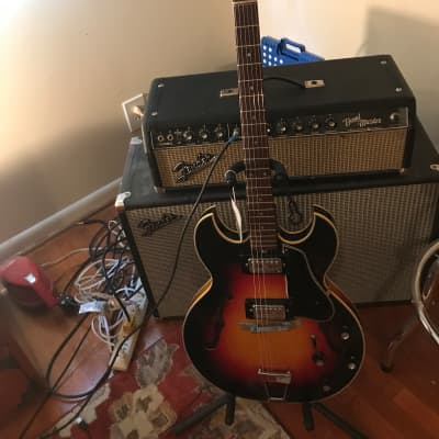 1960's Kapa Challenger CH6 Hollow Body Electric Guitar. Made in USA for sale