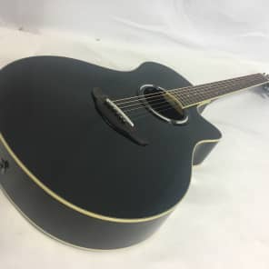 Yamaha APX500II Thinline Acoustic/Electric Guitar Black