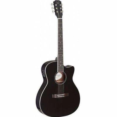 James Neligan Electro Acoustic Guitar - Black for sale