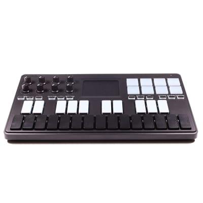 Korg nanoKEY Studio Mobile MIDI Controller Keyboard Black