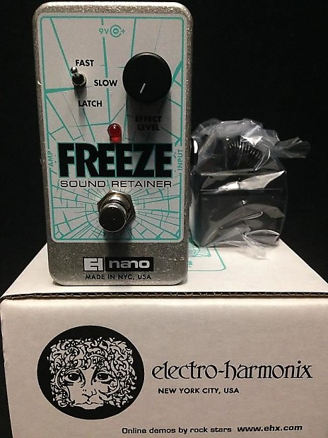 electro harmonix freeze sound retainer guitar effects pedal reverb. Black Bedroom Furniture Sets. Home Design Ideas
