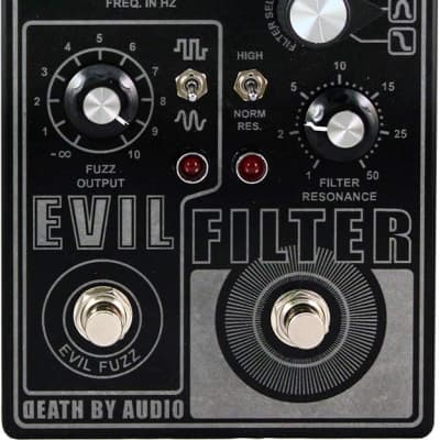 New Death By Audio Evil Filter Fuzz Guitar Effects Pedal