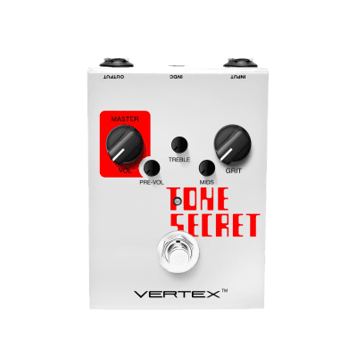Vertex Tone Secret Overdrive Guitar Effects Pedal - 364313 - 748252632357