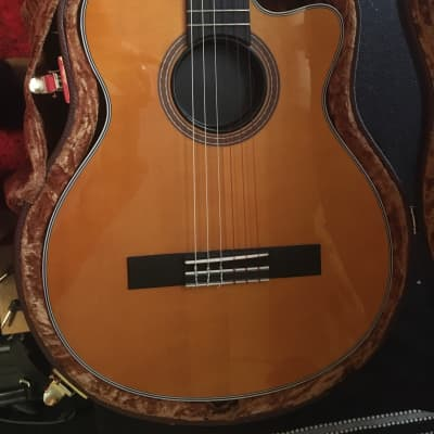 Epiphone CE Coupe Nylon String Acoustic-Electric Guitar Antique Natural for sale