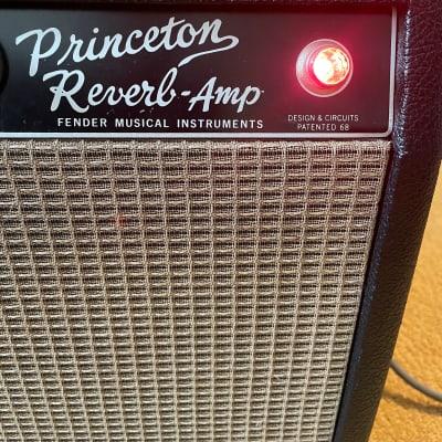 1965 Fender Princeton Reverb Vintage Blackface Guitar Combo Amp for sale