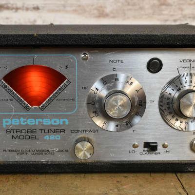 Peterson Model 420 Strobe Tuner Free Shipping