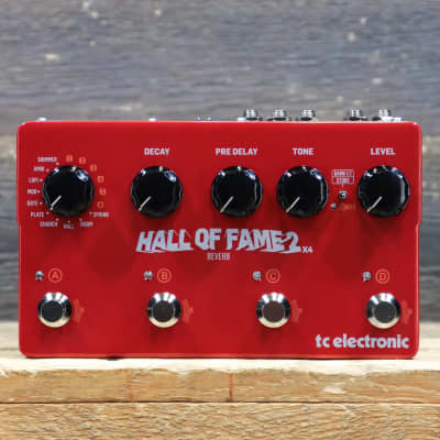 TC Electronic Hall of Fame 2 X4 Reverb w/MASH Switches Reverb Effect Pedal w/Box