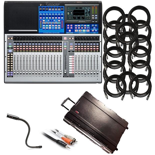 PreSonus StudioLive 24 Digital Mixer STAGE KIT | Kraft Music