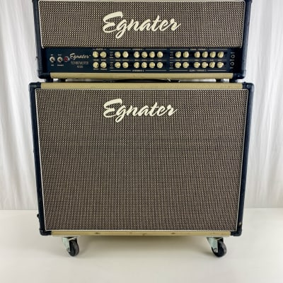 Egnater Tourmaster 4100 & 212x Half Stack 100 Watt Guitar Amplifier + Footswitch for sale