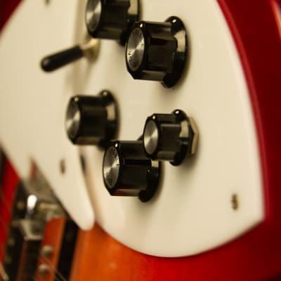 Rickenbacker 360-12  Fireglo Cherry Burst for sale