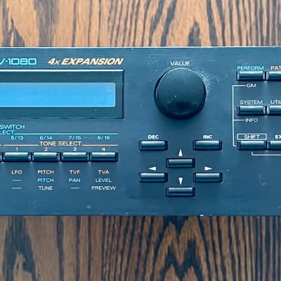 Roland JV-1080 64-Voice Synthesizer Module