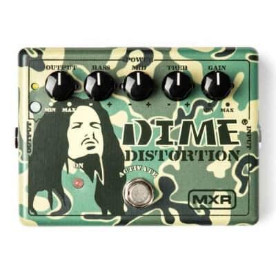 MXR DD11 Dime Distortion Pedal - Dimebag Darrell Pantera Signature Guitar Distortion Pedal for sale