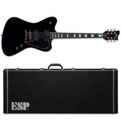 ESP LTD Bill Kelliher Sparrowhawk Black BLK Electric Guitar + Hardshell Case for sale