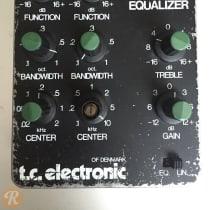 TC Electronic Dual Parametric Equalizer 1980s Black image