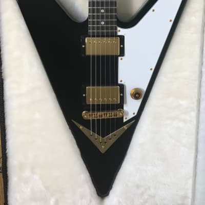 GIBSON REVERSE FLYING V - Ebony - Unplayed -  In Box! for sale