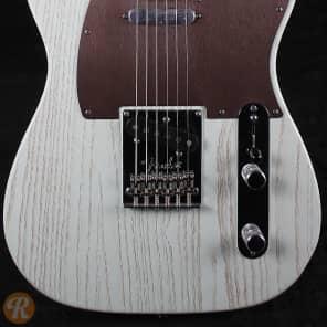 Fender FSR Rustic Ash Telecaster Sonic Blue 2013