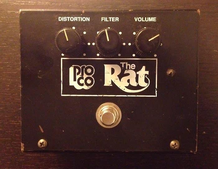proco rat pedal   ruetz mod