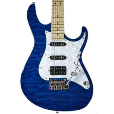 Cort G250DX Trans Blue Electric Guitar for sale
