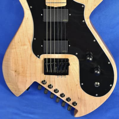 Gimenez Saint II 622B Natural Electric Guitar EMG Schaller w/OHSC for sale