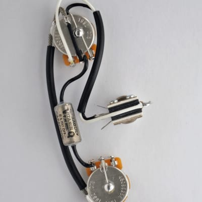 Les Paul Special Epiphone Wiring Harness Kit CTS 525k Pots .033 MFD Vitamin Q