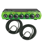 Trace Elliot ELF 200W Ultra Compact Bass Amplifier Head + (2) 10' Instrument Cables image