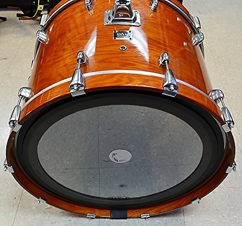 yamaha oak custom 24 kick bass drum honey amber reverb. Black Bedroom Furniture Sets. Home Design Ideas