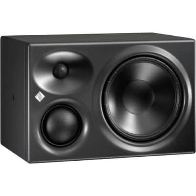 Neumann Active Tri-Amplified 3-Way Midfield Left Studio Monitor, 1 Tweeter/3 Midrange/8.25 Woofer, 36Hz-20kHz, 13 K Ohms Impedance, Single