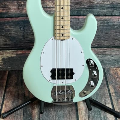 Sterling by Music Man StingRay Ray4 4 String Electric Bass - Mint Green