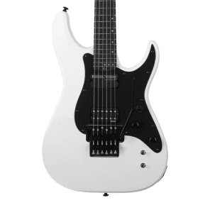 Schecter Sun Valley Super Shredder FR Electric Guitar w/ Floyd Rose Tremolo, Sustaniac Bridge Gloss White