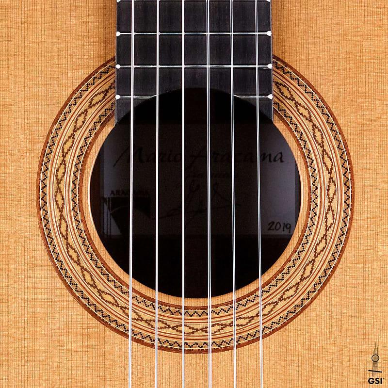 Mario aracama 2019 classical guitar cedar cocobolo reverb - Cocobolo granada ...