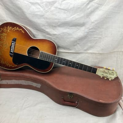Vintage 1930's Kay Kraft Style C Acoustic Guitar Nick Lucas Stencil X Braced for sale