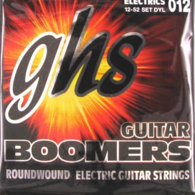 GHS Boomers Guitar Strings DYM Alloy Roundwound Electric Heavy 13-56