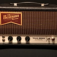 Benson Amps Tall Bird Reverb Unit / Tank - Drive the front end of any Non Verb Amp - Luscious !