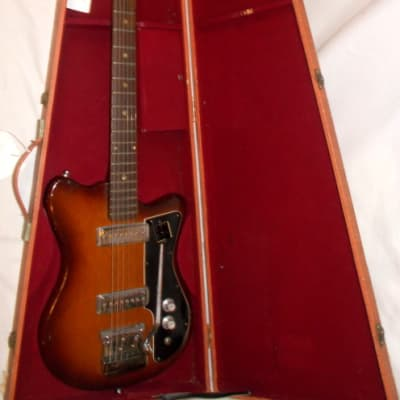 1963 Kapa Solid Body Twin Pickup With Original Hardshell Case for sale