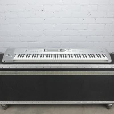 Korg Triton Le 76-Key Music Workstation Keyboard w/ ATA Flight Case #40725